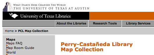 Perry-Castañeda Map Collection